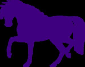 298x237 Purple Horse Clipart Amp Purple Horse Clip Art Images