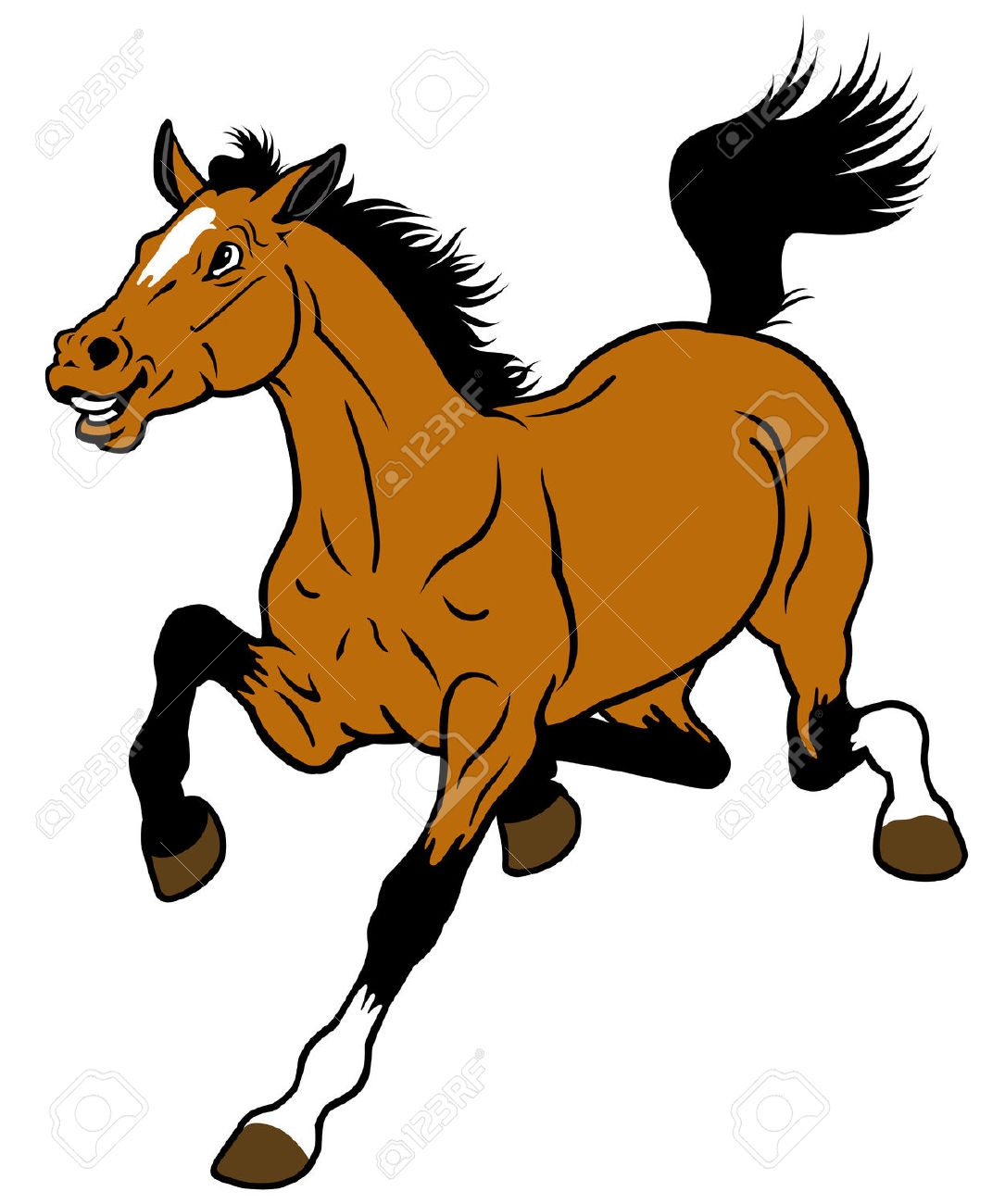 1085x1300 Horse In Stable Clipart