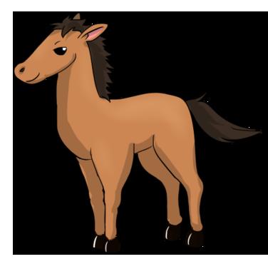 376x370 Luxury Stallion Clipart Free