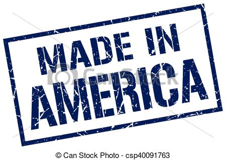 450x318 Made In America Stamp Clip Art Vector