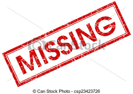 450x320 Missing Red Square Stamp Isolated On White Background Clip Art