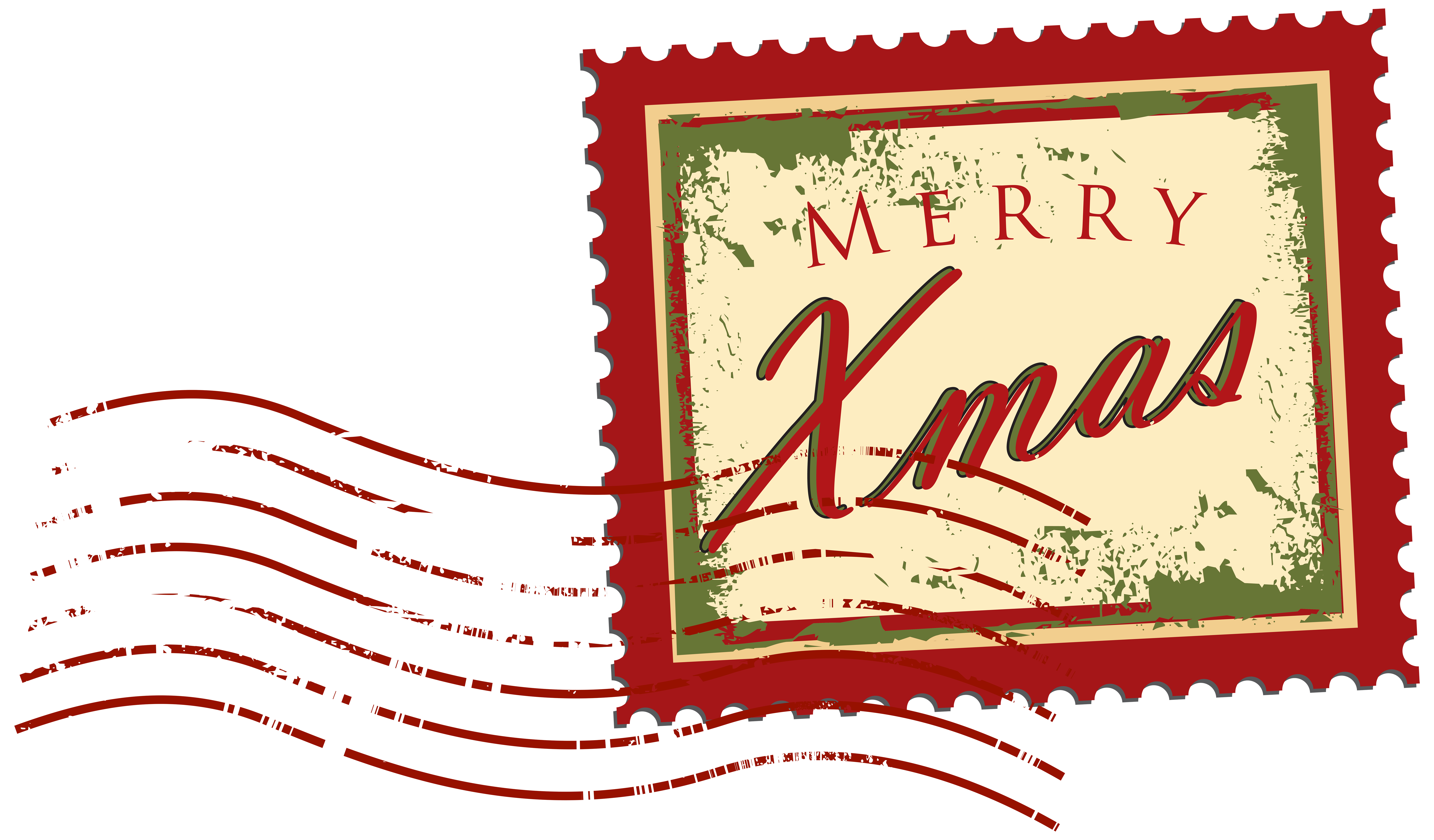 8000x4689 Christmas Stamp Png Clip Art Imageu200b Gallery Yopriceville