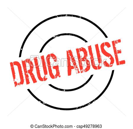 450x438 Drug Abuse Rubber Stamp. Grunge Design With Dust Scratches