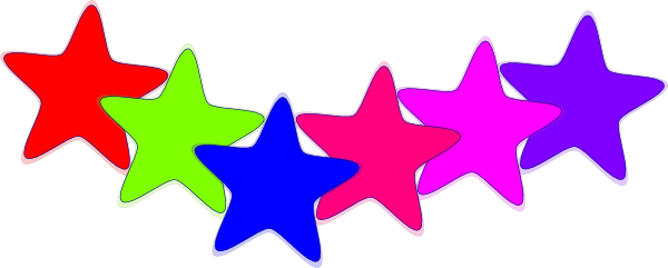 600x241 Stars Clip Art Free Download Clipart Images