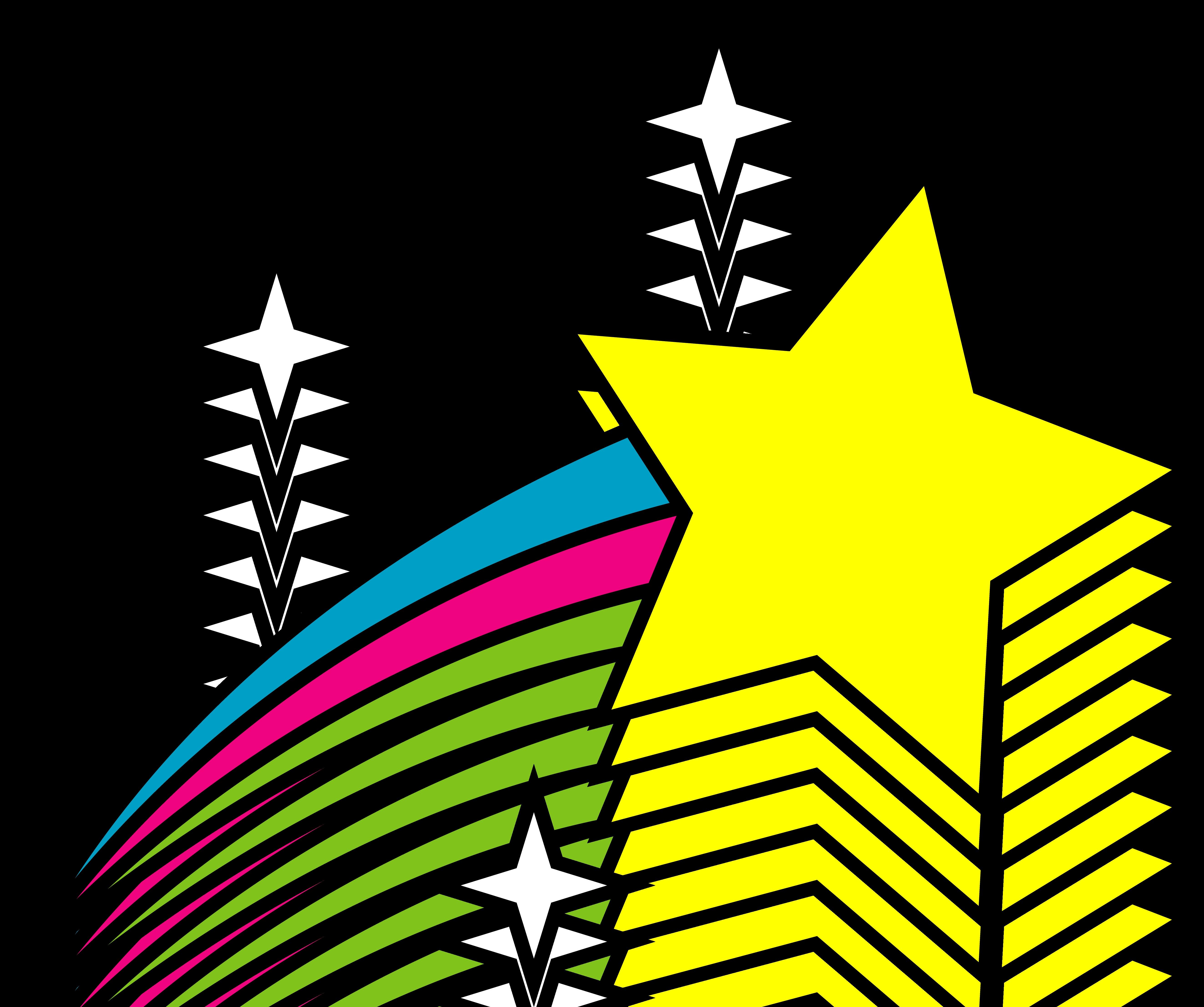 5292x4424 New Star Clipart Design