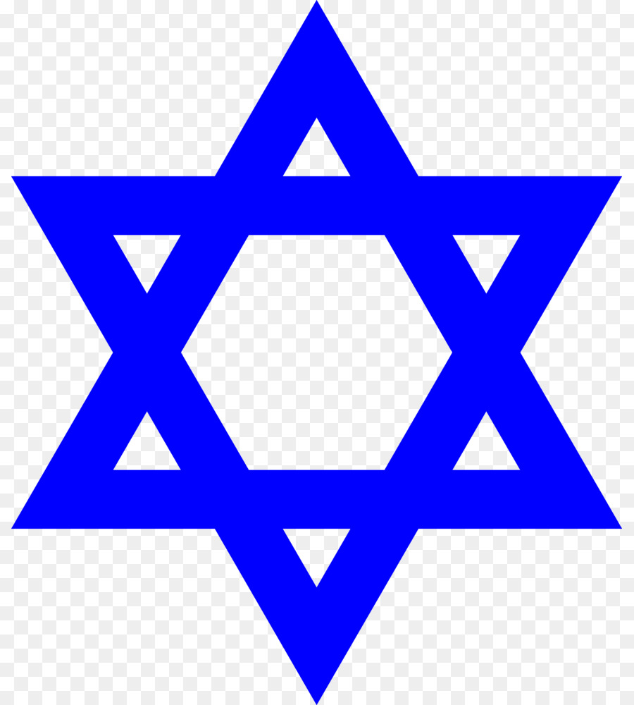 900x1000 Star Of David Judaism Symbol Hexagram Clip Art