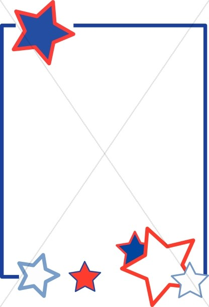 416x612 Red White And Blue Stars Clipart Gallery Images)