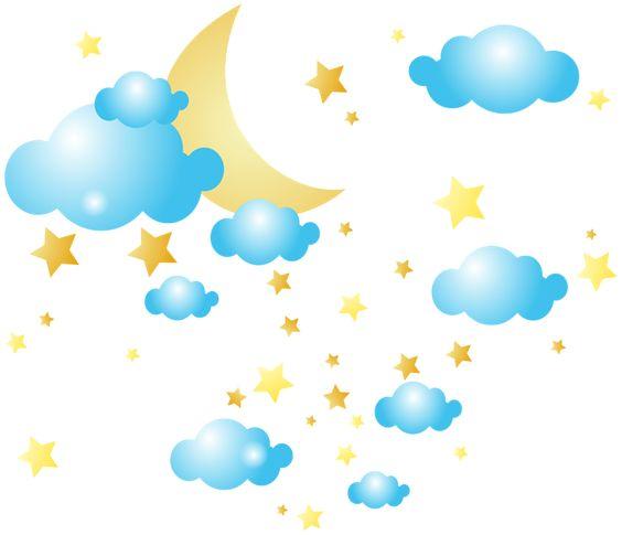 564x485 Star Cloud Cliparts