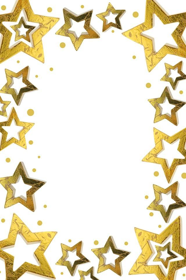 640x960 Collection Of Free Clipart Borders Stars High Quality, Free