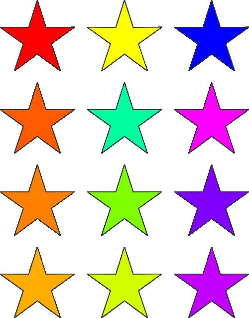 500x638 Star Clip Art