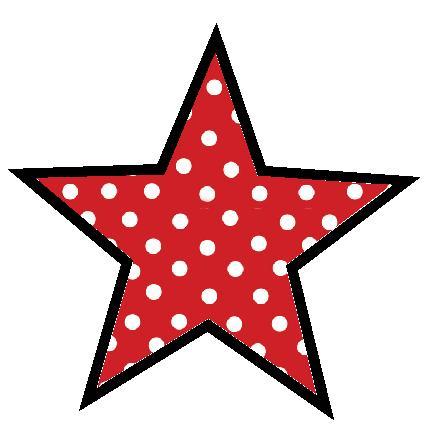 432x432 Star Clipart Polka Dot