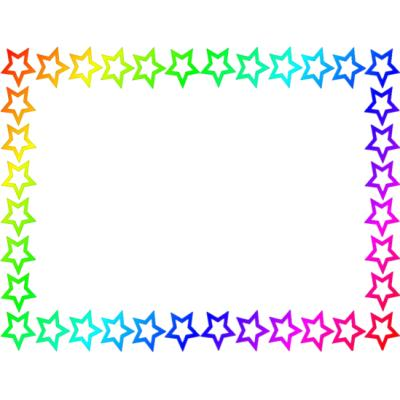 400x400 Collection Of Stars Clipart Border High Quality, Free