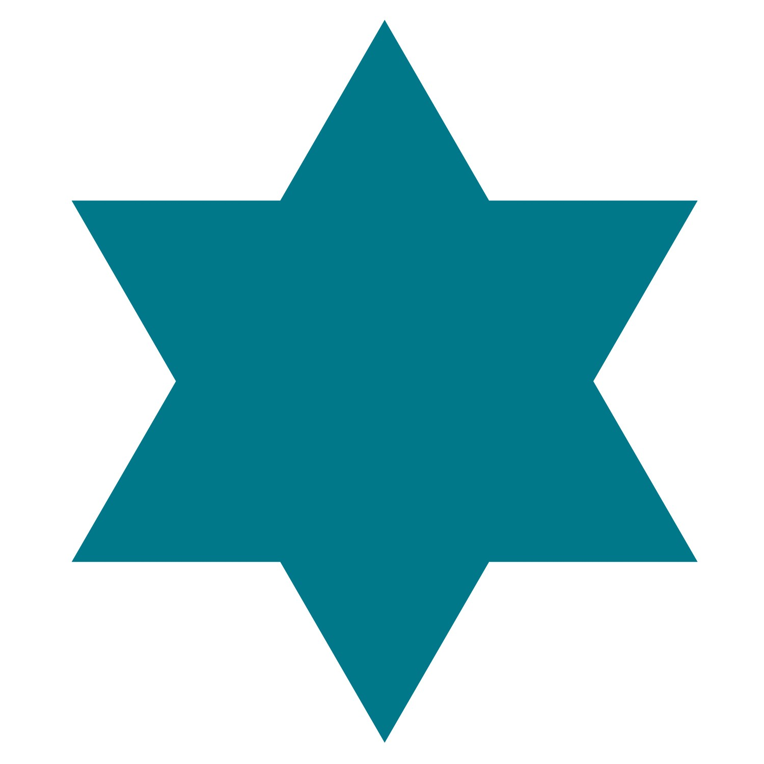 1500x1500 Felt Star Of David Clipart