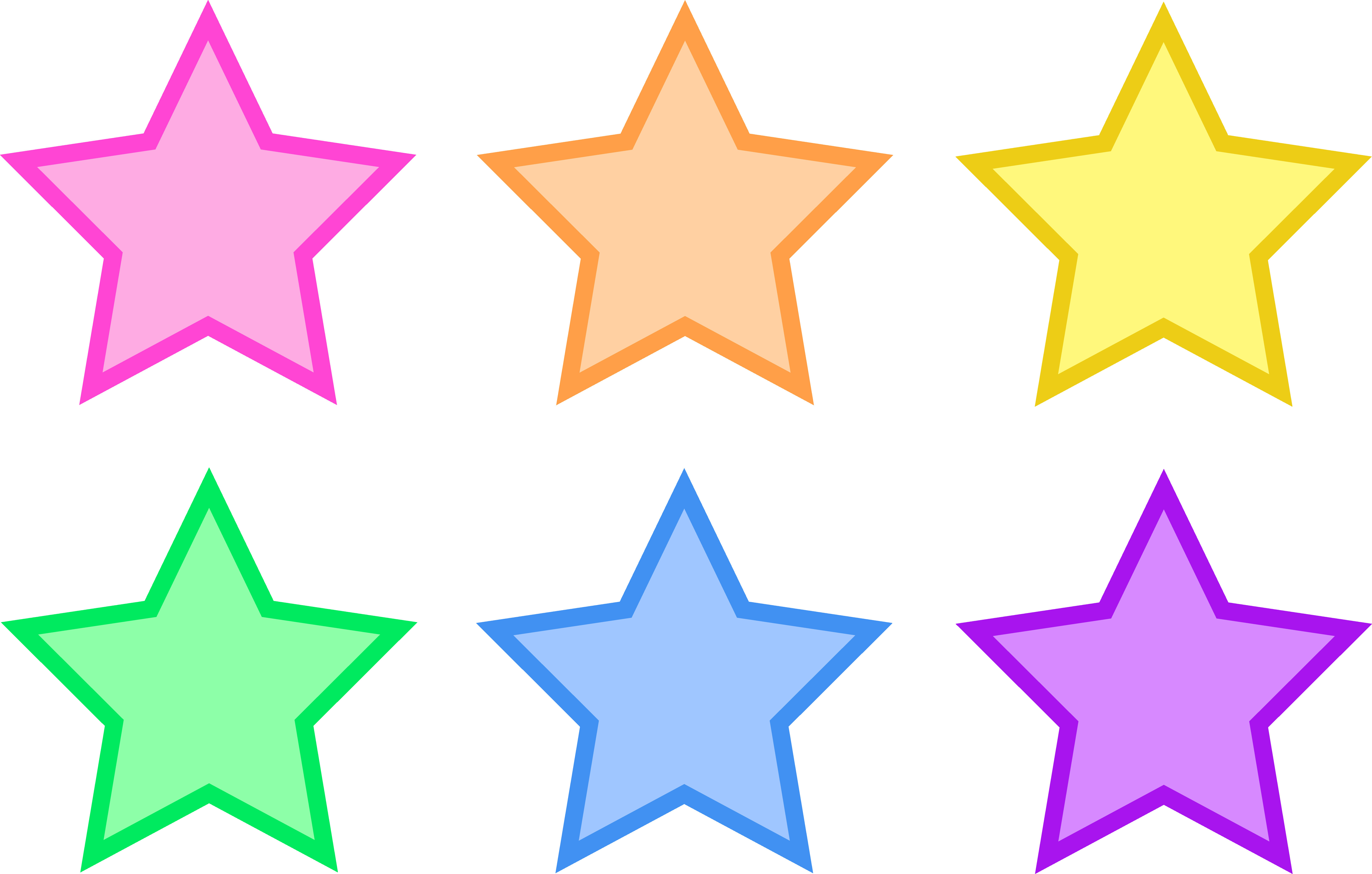 It is a graphic of Printable Stars Shapes inside cartoon