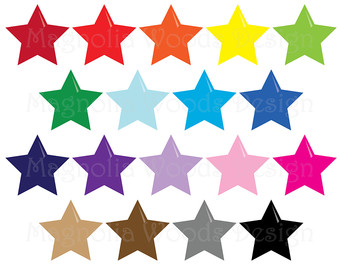 340x270 Star Clipart Stars Clip Art Twinkle Galaxy Outer Space Label