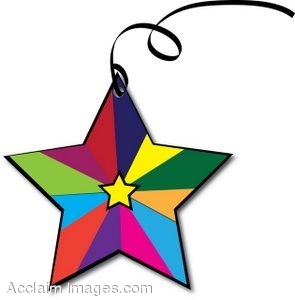 295x300 Collection Of Colorful Star Clipart High Quality, Free