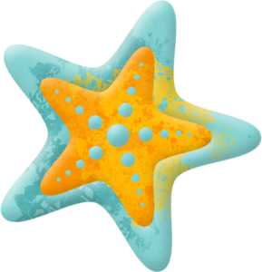 289x300 Ljd Wos Starfish Small Blue.png Clip Art Summer