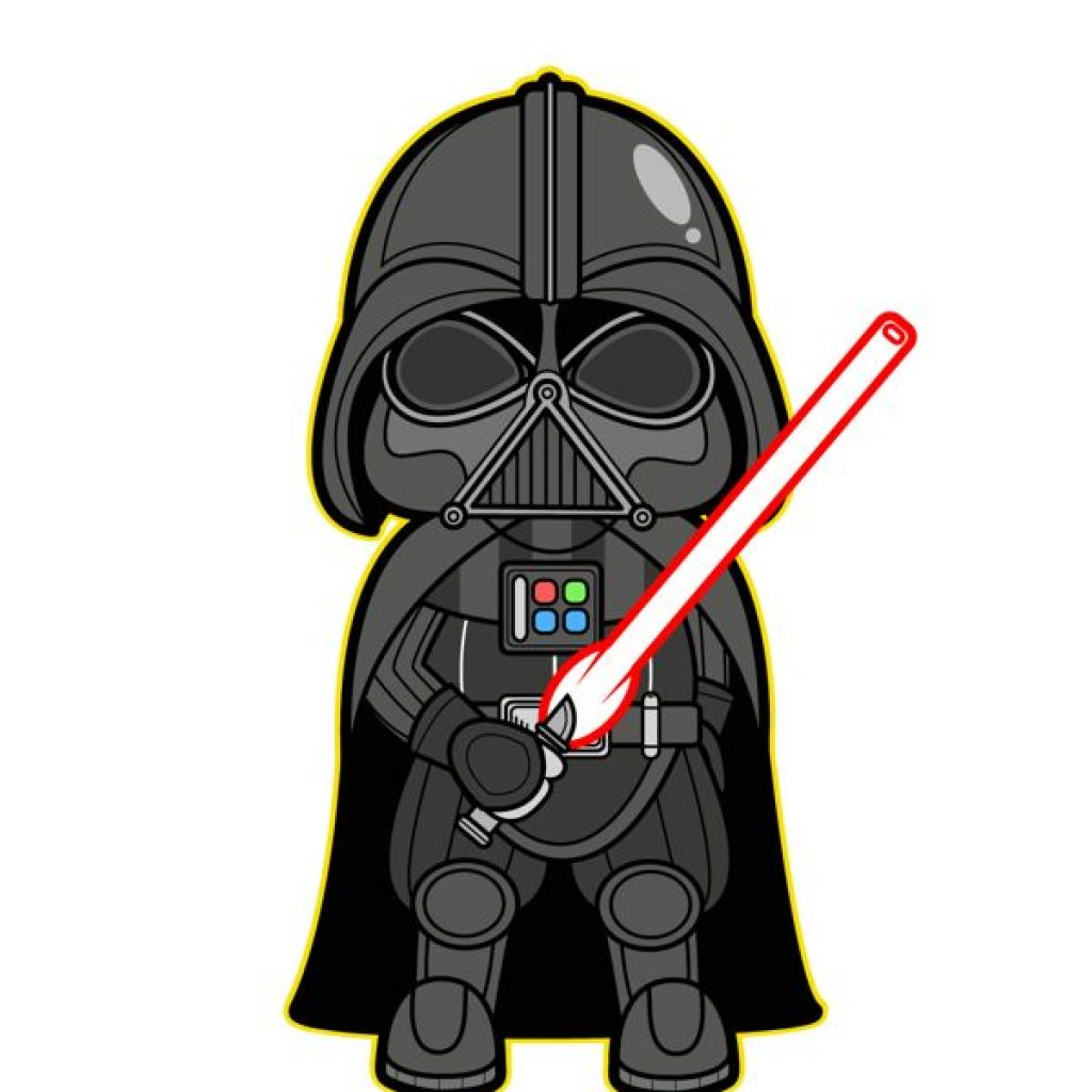 1024x1024 Darth Vader Clip Art Thank You Clipart
