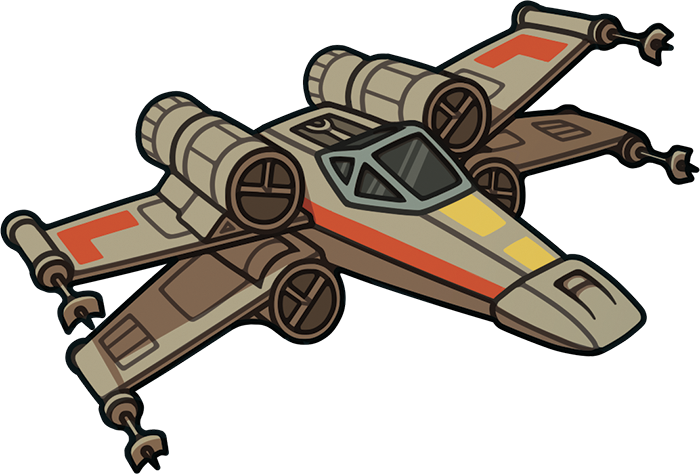 700x474 Collection Of X Wing Fighter Clipart High Quality, Free