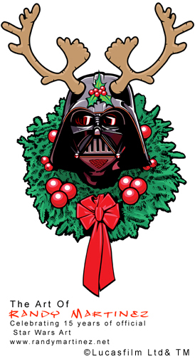 274x504 Darth Vader Randy Martinez Artist