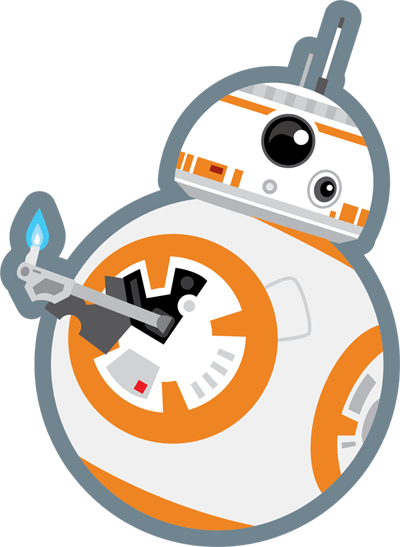 400x547 Collection Of Star Wars Bb8 Clipart High Quality, Free