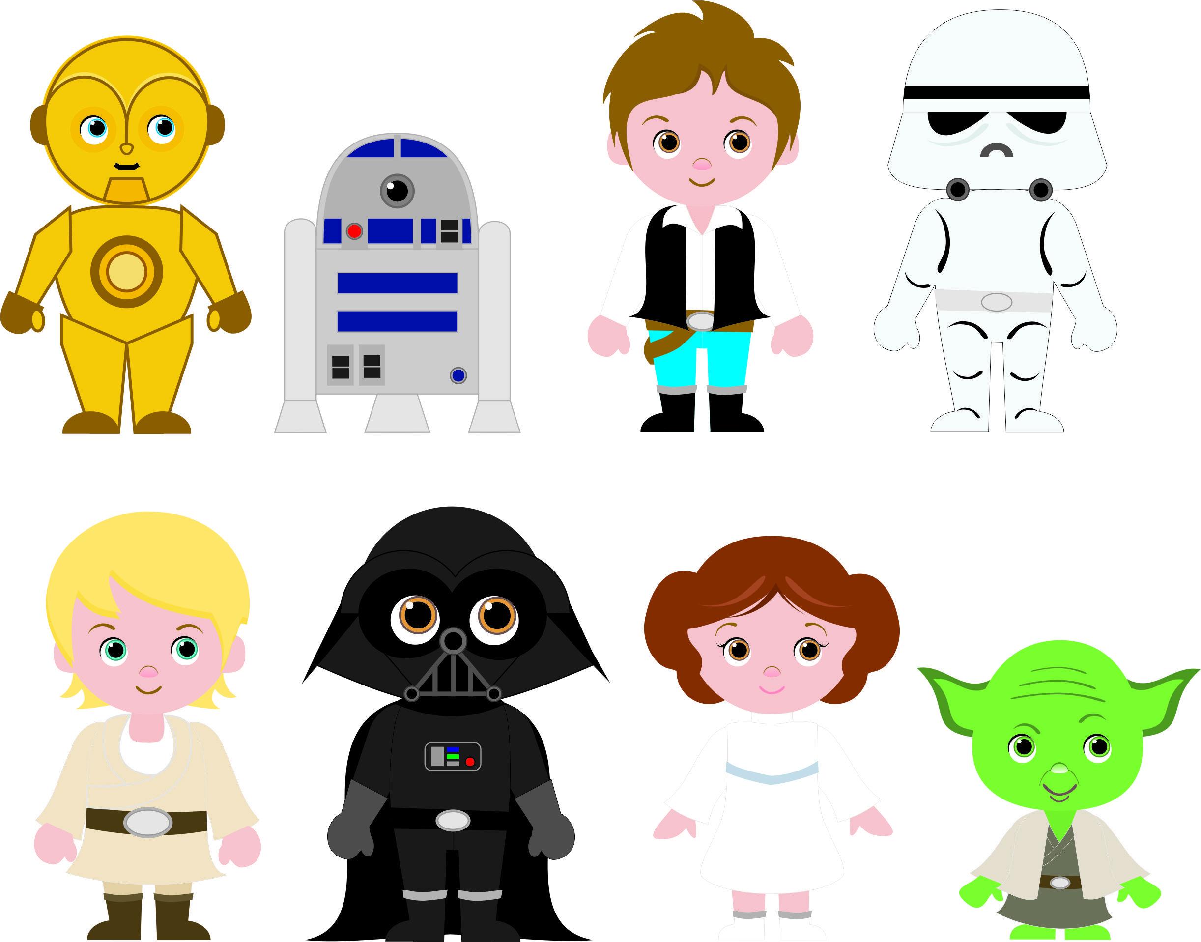 2444x1917 Cliparts Fofinhos Para Festa Star Wars Cute Cliparts For Star Wars