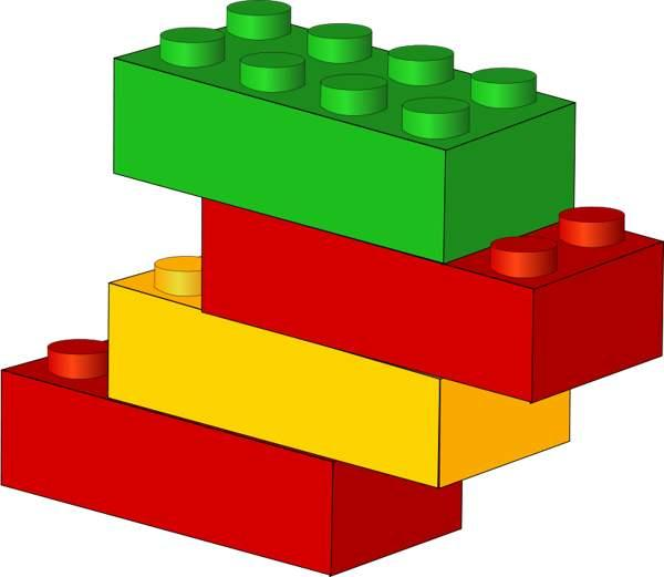 600x521 Lego Figures Clip Art