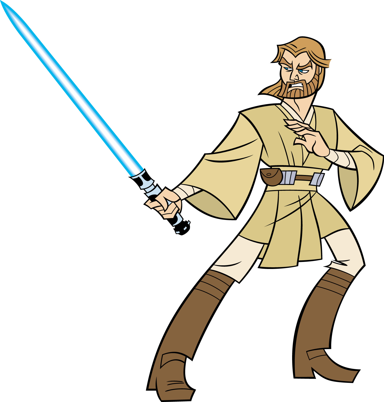 1580x1656 Obi Wan Kenobi Star Wars Clone Wars 2003 Series Wikia Fandom
