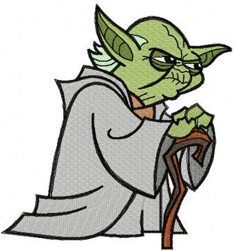 340x364 Star Wars Yoda Clipart