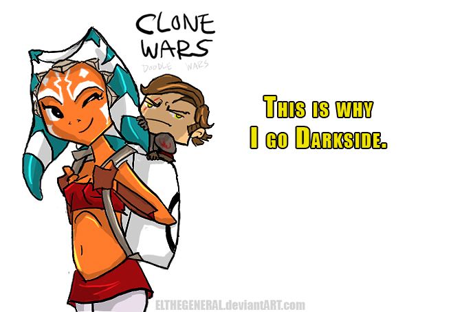 688x454 Why Darkside Clone Wars Doodle By Elthegeneral