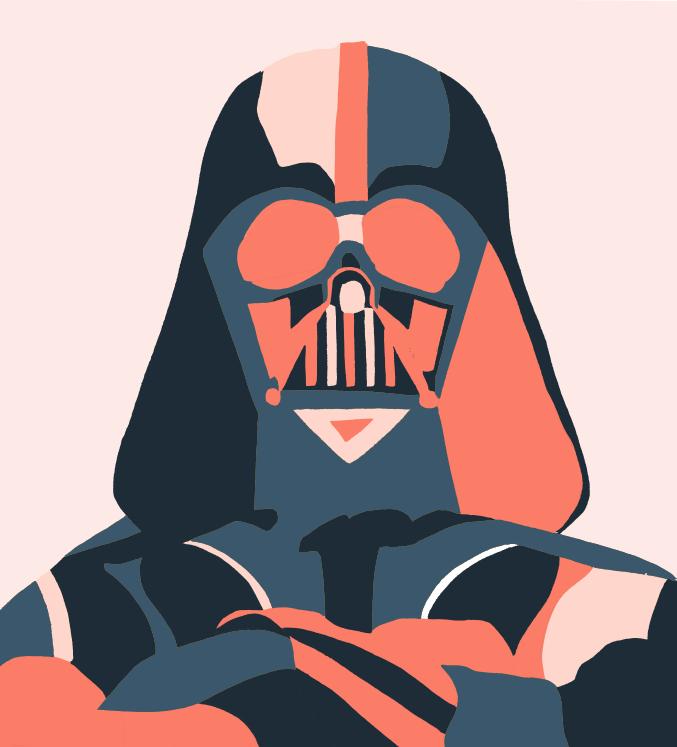 677x747 Star Wars Darth Vader By Kazuhiro Ishihara (Illustrator