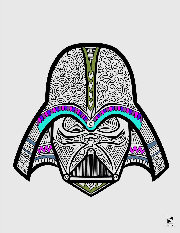 1159x1500 Star Wars Coloring Page Darth Vader Coloring Page Printable