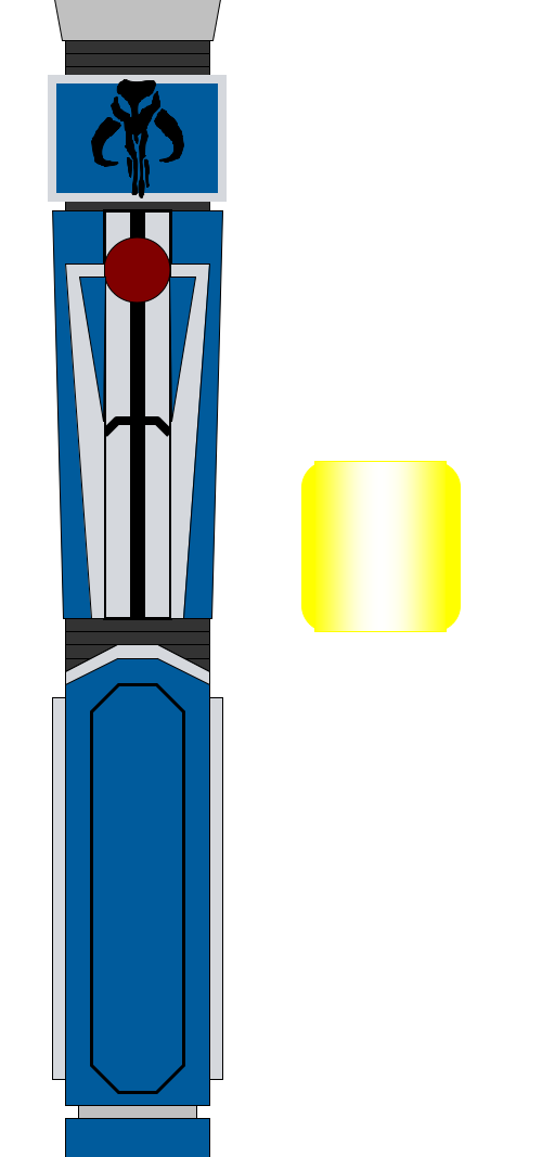 500x1067 Mandalorian Lightsaber By Thescifiartisan
