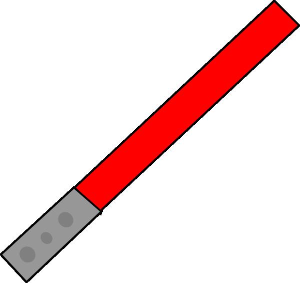 600x565 Red Saber Clip Art