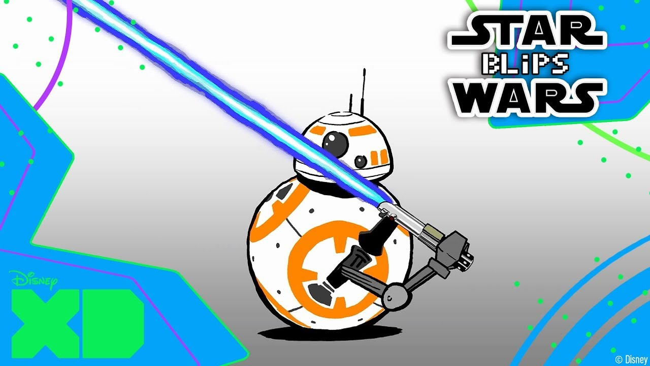 1280x720 Star Wars Bb8 Blips Lightsaber Official Disney Xd Africa