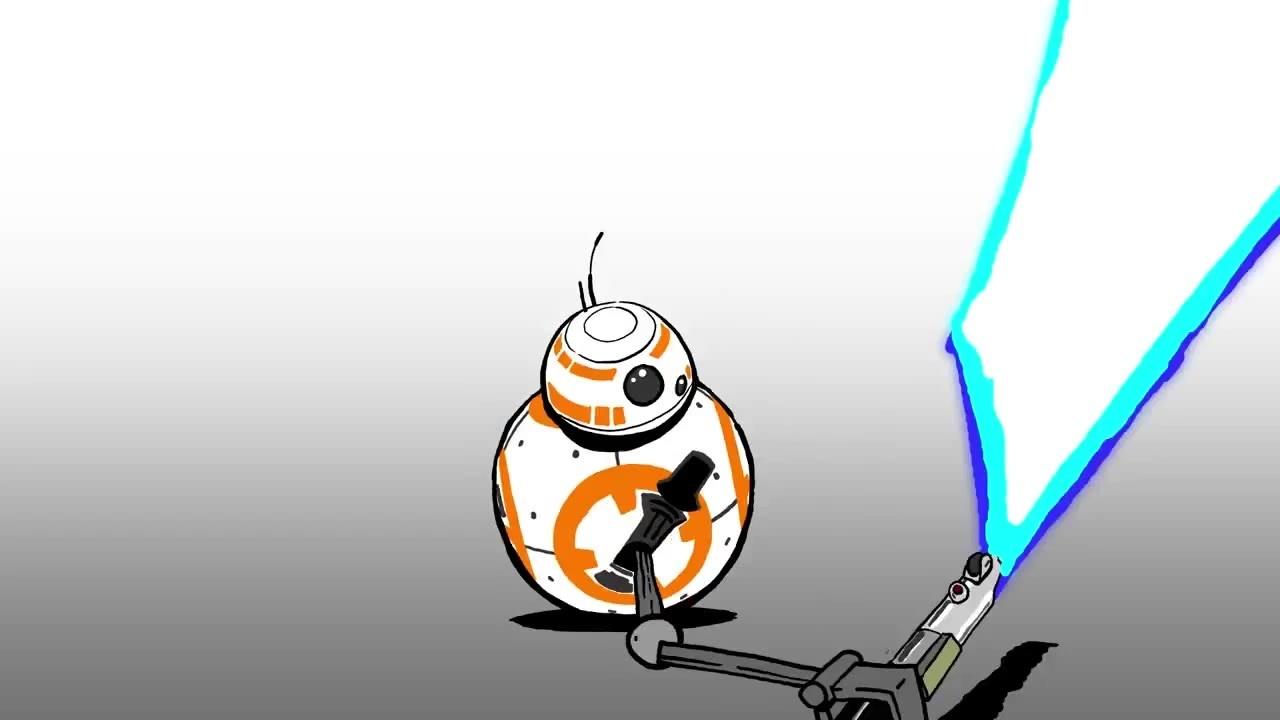 1280x720 Lightsaber Star Wars Blips