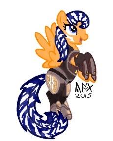 230x285 Fulcrum Ahsoka Tano (Pony) By Yoshixage