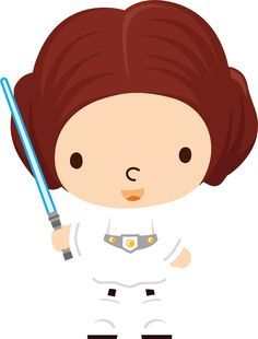 236x310 Galaxy Wars (Princess Leia) Paper Star Wars