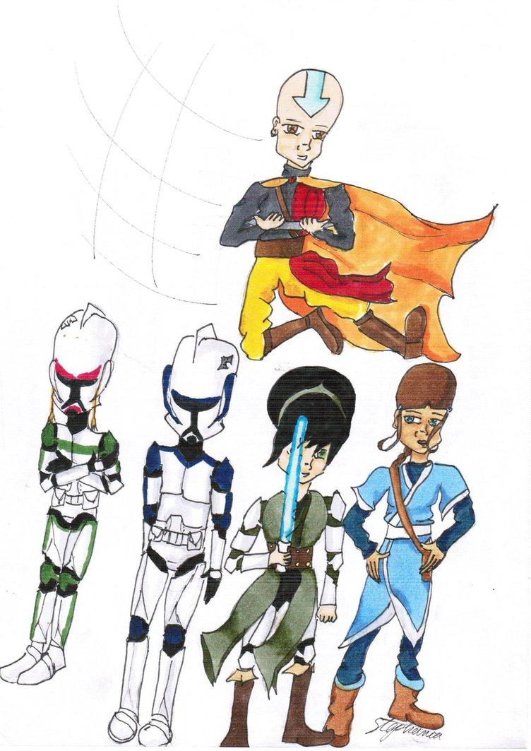 752x1063 Atlastar Wars The Clone Wars By Randomgirl1298