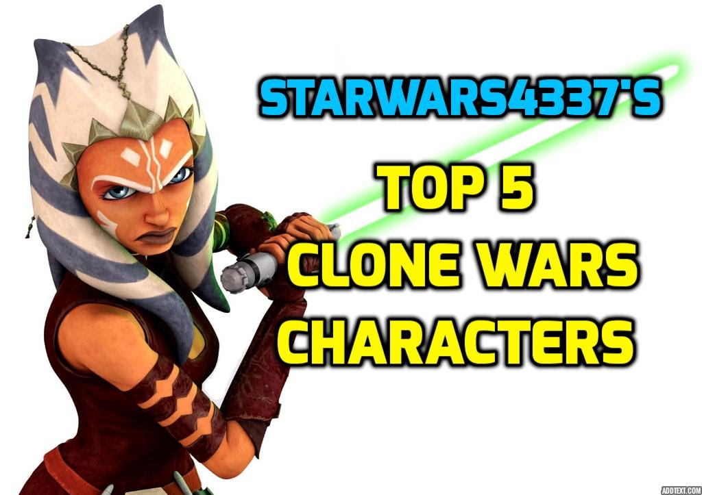 1024x723 Top 5 Star Wars The Clone Wars Characters