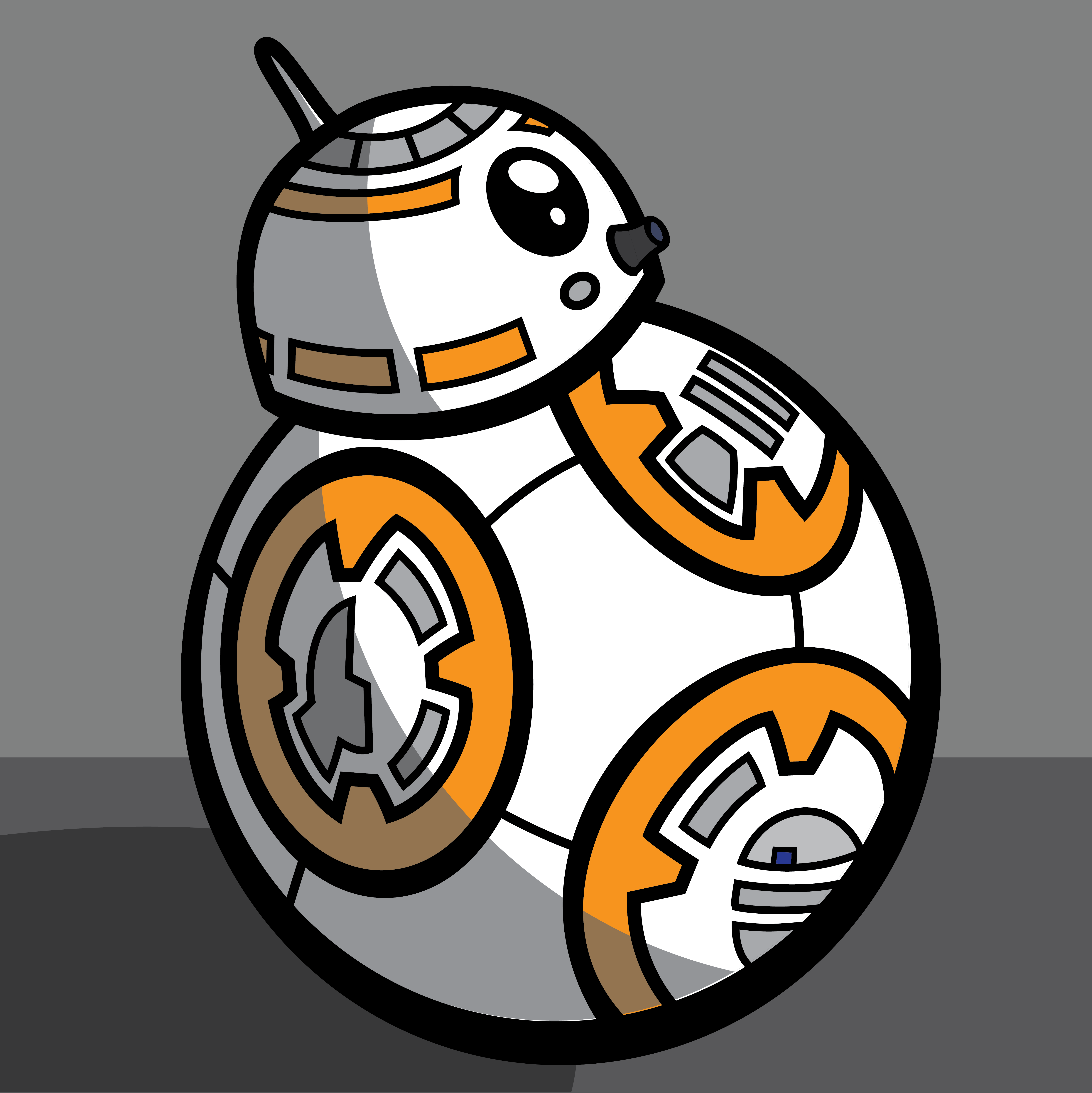 5905x5909 Clone Wars (2003) Style Bb 8 By Mick92