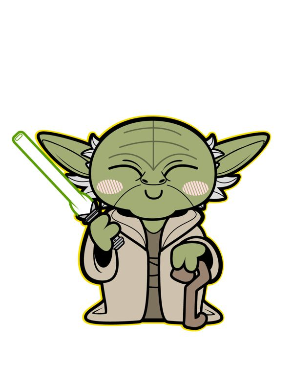Star Wars Yoda Clipart at GetDrawings | Free download