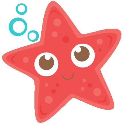 432x432 Starfish Clipart Starfish Svg Scrapbook Cut File Cute Clipart
