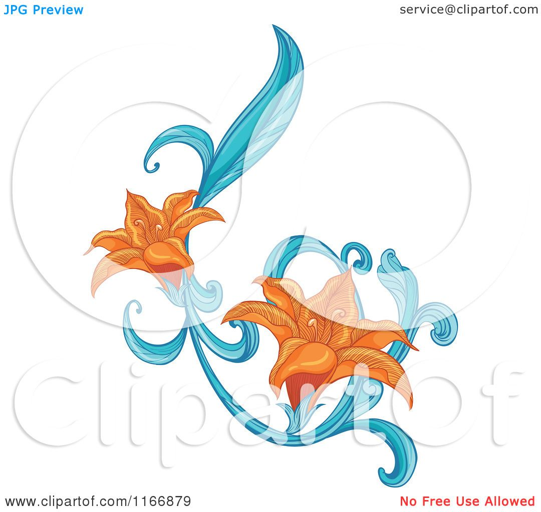 Stargazer lily clipart at getdrawings free for personal use 1080x1024 cartoon of an orange lily flower design element izmirmasajfo
