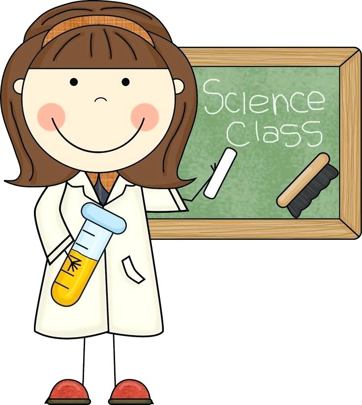 736x824 Free Clip Art Science Here You Can See The Young Girl Science