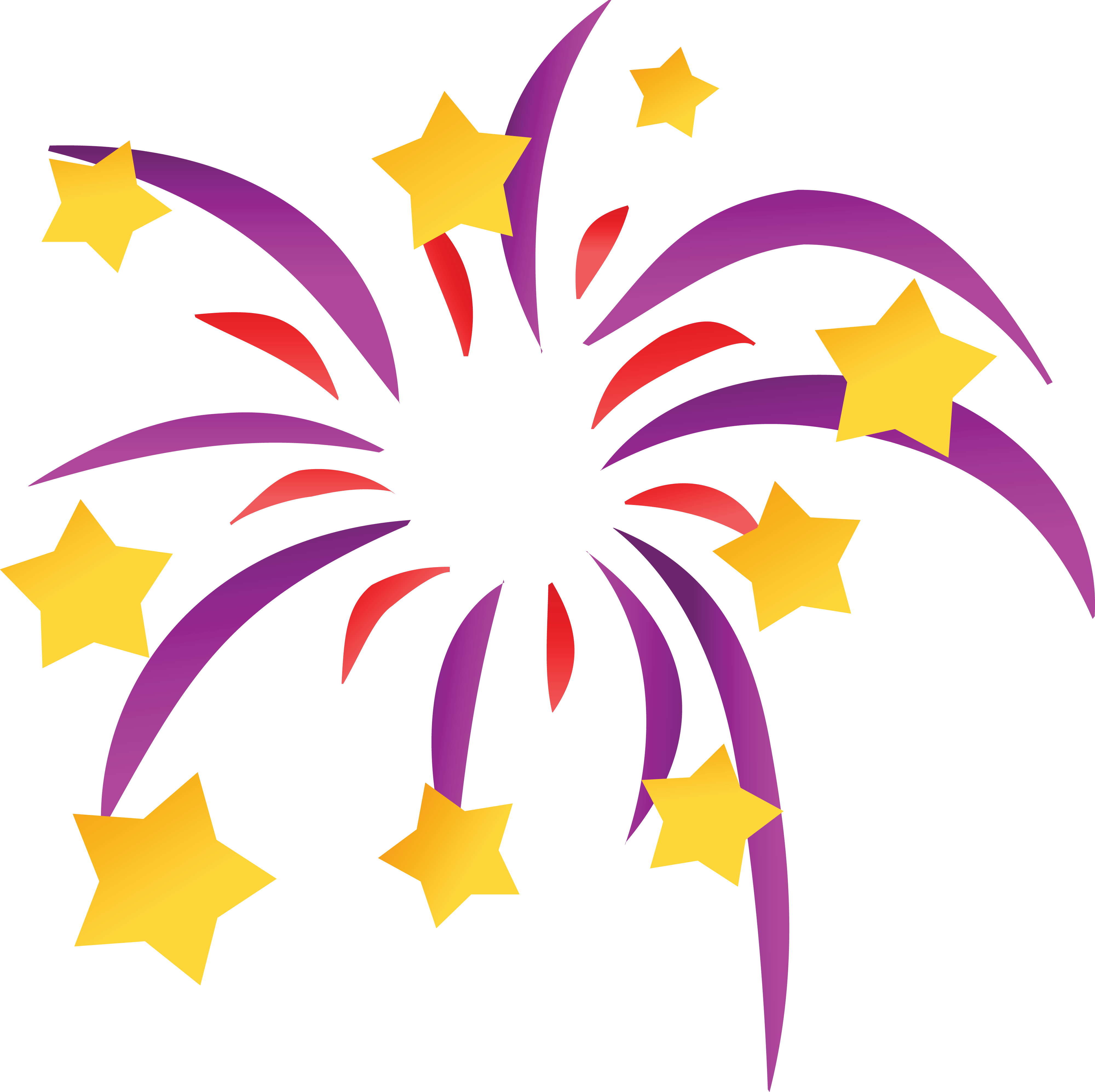 4000x3990 Free Clipart Of A Starry Firework