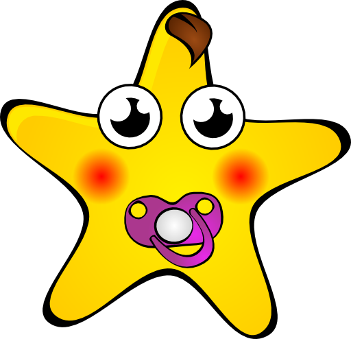512x494 Starry Night Star Clipart I2clipart
