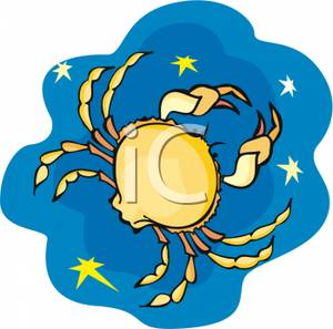 300x297 Cancer The Crab In A Starry Night Sky