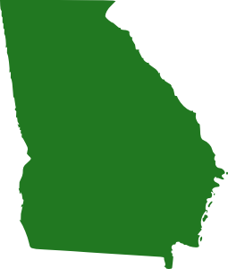 255x300 State Of Georgia Map Clip Art Free Vector 4vector