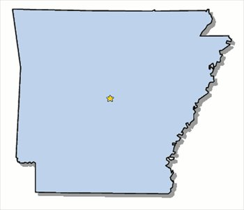 350x302 Arkansas State Clip Art Clipart